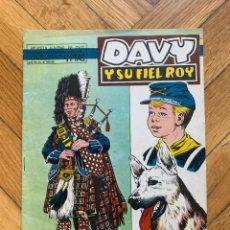 Tebeos: DAVY Y SU FIEL ROY Nº 287. Lote 262680495
