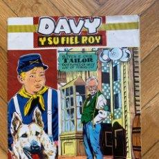 Tebeos: DAVY Y SU FIEL ROY Nº 277. Lote 262681065