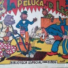 Tebeos: LA PELUCA DE D. LEO BIBLIOTECA ESPECIAL PARA NIÑOS. Lote 263013815