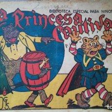 Tebeos: LA PRINCESA CAUTIVA BIBLIOTECA ESPECIAL PARA NIÑOS. Lote 263015180