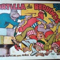 Tebeos: TORTILLA DE BEDUINOS BIBLIOTECA ESPECIAL PARA NIÑOS. Lote 263016440