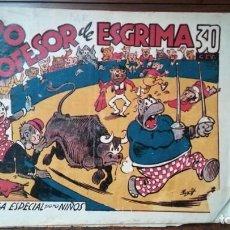 Tebeos: HIPO PROFESOR DE ESGRIMA BIBLIOTECA ESPECIAL PARA NIÑOS. Lote 263018925