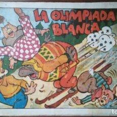 Tebeos: LA OLIMPIADA BLANCA BIBLIOTECA ESPECIAL PARA NIÑOS. Lote 263019970