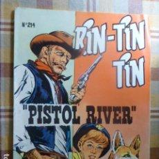 Tebeos: COMIC RIN-TIN-TIN PISTOL RIVER Nº 214 1958 DE MARCO. Lote 263249985