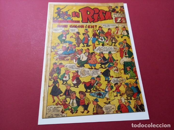 LA RISA Nº 215 -MARCO-1958 - NO APARECE EN TEBEOSFERA -LEER DESCRIPCION (Tebeos y Comics - Marco - La Risa)