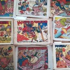 Tebeos: LOTE 68 EJEMPLARES HIPO BIBLIOTECA ESPECIAL PARA NIÑOS ORIGINALES AÑO 1942 ED. MARCO. Lote 263946710
