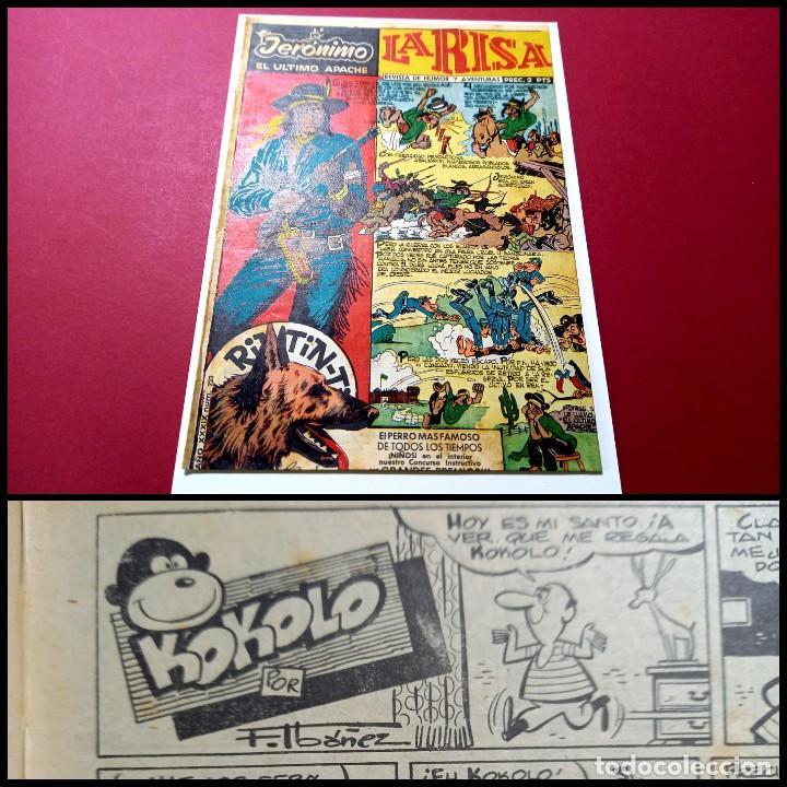 LA RISA Nº 223 -CON KOKOLO DE F.IBAÑEZ -LEER DESCRIPCION (Tebeos y Comics - Marco - La Risa)