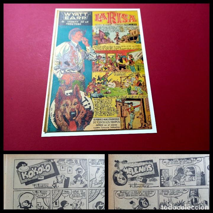 LA RISA Nº 224 -MARCO-1958 - CON KOKOLO Y MELENAS DE F.IBAÑEZ -LEER DESCRIPCION (Tebeos y Comics - Marco - La Risa)