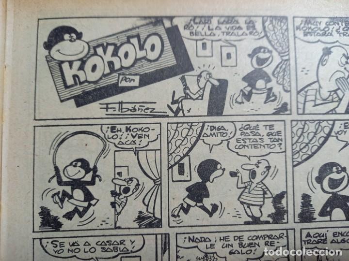 Tebeos: LA RISA Nº 224 -MARCO-1958 - CON KOKOLO Y MELENAS DE F.IBAÑEZ -LEER DESCRIPCION - Foto 3 - 263712965