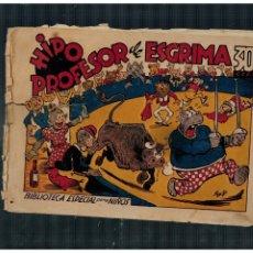BDs: BIBLIOTECA ESPECIAL PARA NIÑOS. HIPO PROFESOR DE ESGRIMA. MARCO AÑOS 40. ORIGINAL. Lote 265988303