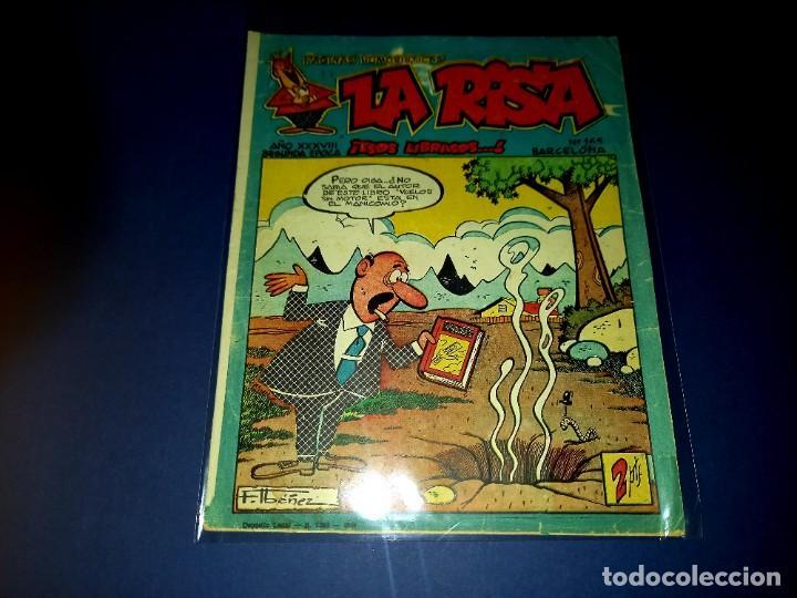 LA RISA Nº 165 -EDITORIAL MARCO F.IBAÑEZ-HACIENDO EL INDIO-ENTRE OTROS-MUY DIFICIL (Tebeos y Comics - Marco - La Risa)