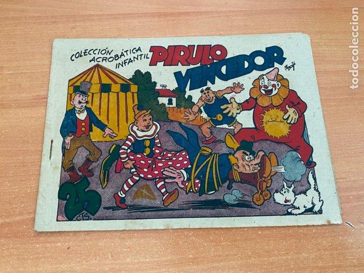 COLECCION ACROBATICA INFANTIL. PIRULO VENCEDOR (ORIGINAL MARCO) (COIB61) (Tebeos y Comics - Marco - Acrobática Infantil)