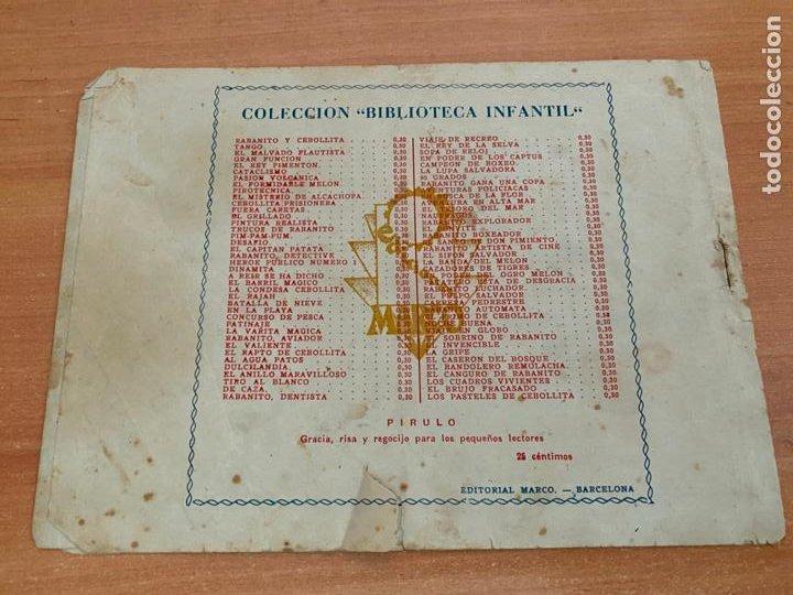 Tebeos: BIBLIOTECA INFANTIL. EL BUQUE PERDIDO (ORIGINAL MARCO) (COIB61) - Foto 2 - 267648574
