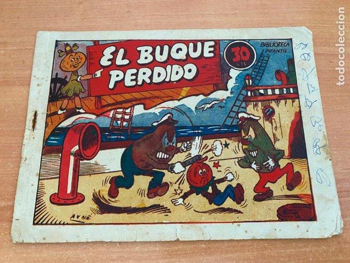 BIBLIOTECA INFANTIL. EL BUQUE PERDIDO (ORIGINAL MARCO) (COIB61) (Tebeos y Comics - Marco - Acrobática Infantil)