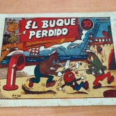 Tebeos: BIBLIOTECA INFANTIL. EL BUQUE PERDIDO (ORIGINAL MARCO) (COIB61). Lote 267648574