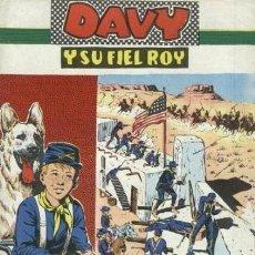 Tebeos: DAVY Y SU FIEL ROY- Nº 274 -HASTA EL ÚLTIMO CARTUCHO-1966-GRAN ROSELLÓ-ÚNICO EN TC-BUENO-LEA-4987. Lote 267666344