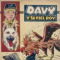 Tebeos: DAVY Y SU FIEL ROY- Nº 283 -PELEAS DE GALLOS-1966-GRAN A. PEREZ-BUENO-MUY DIFÍCIL-LEAN-4988. Lote 267749849