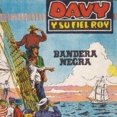 Tebeos: DAVY Y SU FIEL ROY- Nº 289 -BANDERA NEGRA-1967-GRAN A. PEREZ-BUENO-MUY DIFÍCIL-LEAN-4989. Lote 267752754