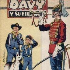 Tebeos: DAVY Y SU FIEL ROY- Nº 303 -HÚSARES PARA UN GENERAL-1967-GRAN A. PÉREZ-BUENO-ÚNICO EN TC-LEAN-4990. Lote 267754294