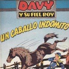 Tebeos: DAVY Y SU FIEL ROY- Nº 304 -UN CABALLO INDÓMITO-1967-GRAN M. SUBIRATS-BUENO-DIFÍCIL-LEAN-4991. Lote 267755409
