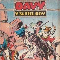 Tebeos: DAVY Y SU FIEL ROY- Nº 307 -EL BANDIDO PANCHO GÓMEZ-1967-GRAN A.PÉREZ-BUENO-DIFÍCIL-LEAN-4992. Lote 267757009
