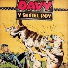 Tebeos: DAVY Y SU FIEL ROY- Nº 308 -EL NUEVO SHERIFF-1967-GRAN J. ROSELLÓ-BUENO-DIFÍCIL-LEAN-4993. Lote 267758259