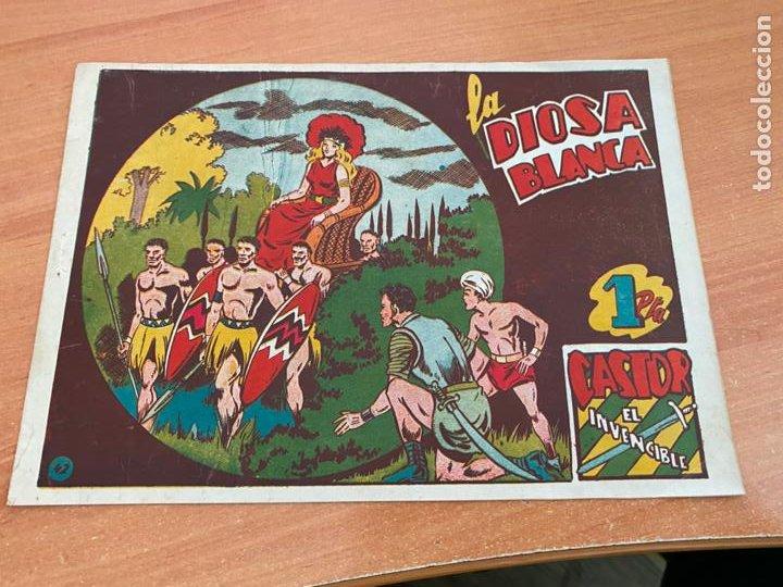 CASTOR EL INVENCIBLE Nº 42 LA DIOSA BLANCA (ORIGINAL MARCO) (COIB61) (Tebeos y Comics - Marco - Castor el Invencible)