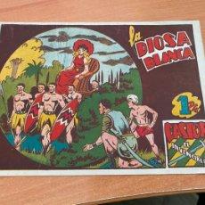 Tebeos: CASTOR EL INVENCIBLE Nº 42 LA DIOSA BLANCA (ORIGINAL MARCO) (COIB61). Lote 267791259