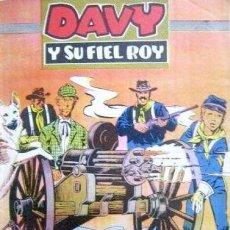 Tebeos: DAVY Y SU FIEL ROY- Nº 309 -LA AMETRALLADORA-1967-GRAN A.PÉREZ-BUENO-ÚNICO EN TC-LEAN-4994. Lote 267809899