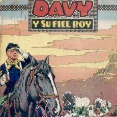 Tebeos: DAVY Y SU FIEL ROY- Nº 316 -PERDIDOS EN EL DESIERTO-1967-GRAN M. SUBIRATS-BUENO-DIFÍCIL-LEAN-4995. Lote 267811589