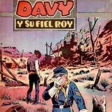Tebeos: DAVY Y SU FIEL ROY- Nº 320 -LA LEY DEL MIEDO-1967-GRAN M. SUBIRATS-BUENO-ÚNICO EN TC-LEAN-4996. Lote 267813549