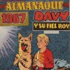 Tebeos: DAVY Y SU FIEL ROY- Nº 275 -ALMANAQUE 1967-GRAN RICARDO BEYLOC-ÚNICO EN TC-CASI BUENO-LEAN-5017. Lote 269140063