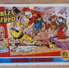 Tebeos: CABEZA DE HIERRO - MARCO / NÚMERO 12 (ÚLTIMO). Lote 269276973