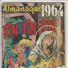 Tebeos: MARCO. RIN TIN TIN. ALMANAQUE 1964.. Lote 271271863