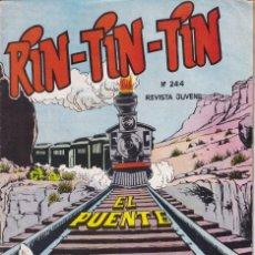BDs: RIN TIN TIN : NUMERO 244 EL PUENTE.EDITORIAL MARCO. Lote 273267018
