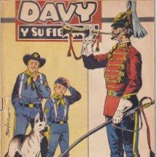 BDs: DAVY Y SU FIEL ROY : NUMERO 303 HUSARES PARA UN GENERAL .EDITORIAL MARCO. Lote 273300953