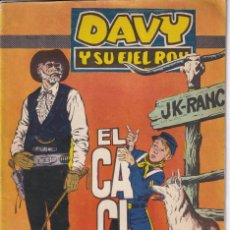 BDs: DAVY Y SU FIEL ROY : NUMERO 286 EL CACIQUE .EDITORIAL MARCO. Lote 273301153