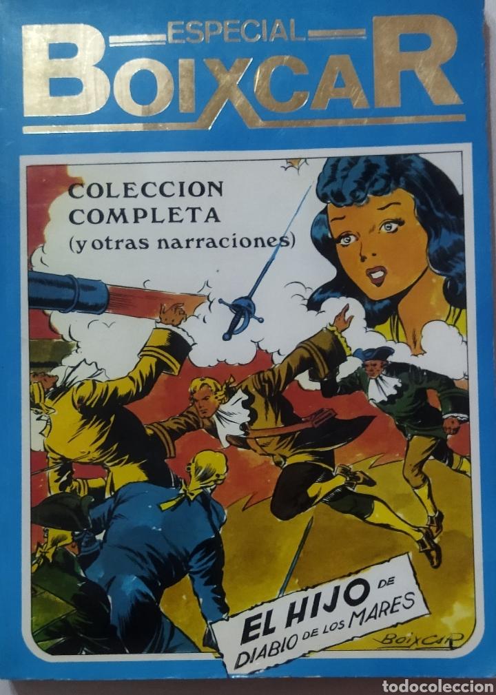 Tebeos: 2 tomos Especial BOIXCAR -Flecha Negra y el Hijo del Diablo de los mares .1980 - Foto 2 - 274941058