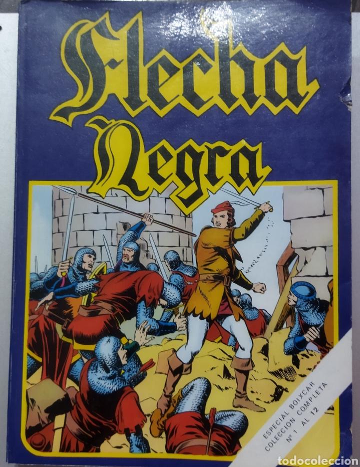 Tebeos: 2 tomos Especial BOIXCAR -Flecha Negra y el Hijo del Diablo de los mares .1980 - Foto 3 - 274941058