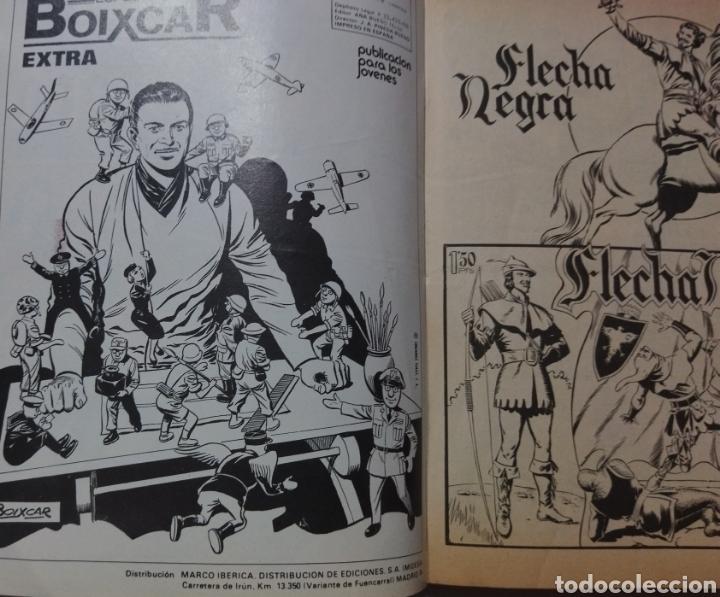 Tebeos: 2 tomos Especial BOIXCAR -Flecha Negra y el Hijo del Diablo de los mares .1980 - Foto 4 - 274941058