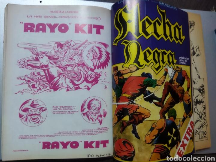 Tebeos: 2 tomos Especial BOIXCAR -Flecha Negra y el Hijo del Diablo de los mares .1980 - Foto 5 - 274941058
