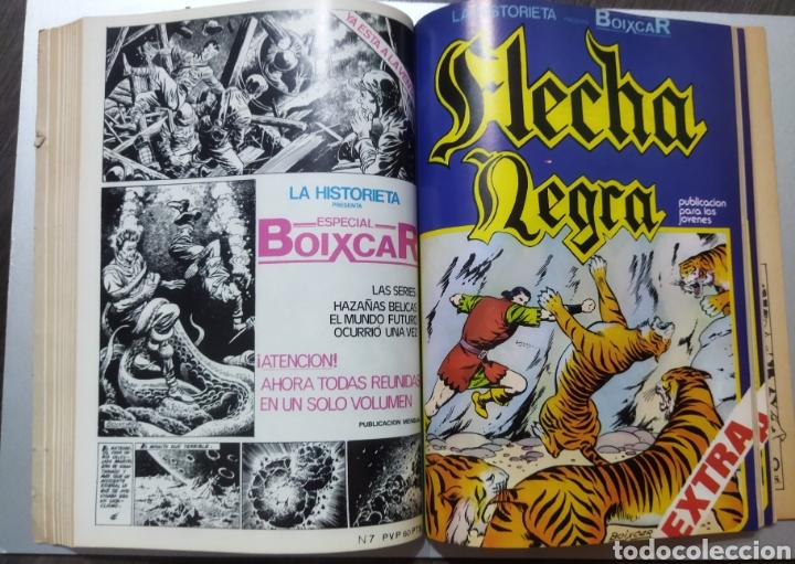 Tebeos: 2 tomos Especial BOIXCAR -Flecha Negra y el Hijo del Diablo de los mares .1980 - Foto 7 - 274941058