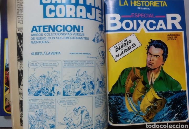 Tebeos: 2 tomos Especial BOIXCAR -Flecha Negra y el Hijo del Diablo de los mares .1980 - Foto 9 - 274941058