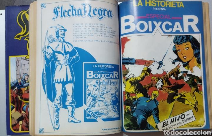 Tebeos: 2 tomos Especial BOIXCAR -Flecha Negra y el Hijo del Diablo de los mares .1980 - Foto 12 - 274941058