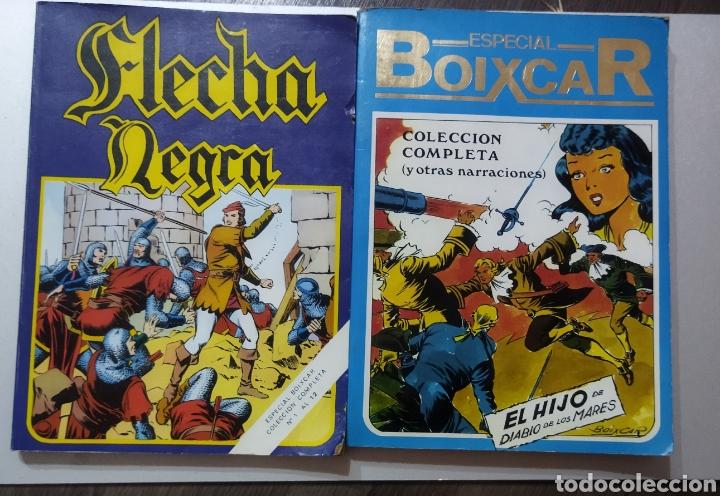 2 TOMOS ESPECIAL BOIXCAR -FLECHA NEGRA Y EL HIJO DEL DIABLO DE LOS MARES .1980 (Tebeos y Comics - Marco - Otros)