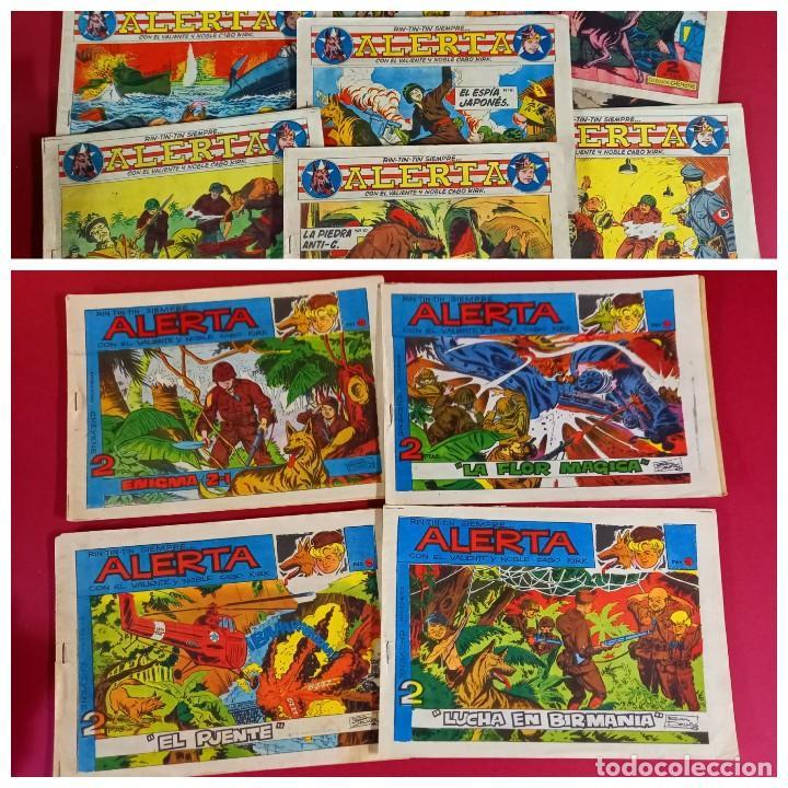 RIN-TIN-TIN SIEMPRE ALERTA - LOTE DE 13 NUMEROS -( COLECCION DE 18 ) -VER NUMERACION (Tebeos y Comics - Marco - Rin-Tin-Tin)