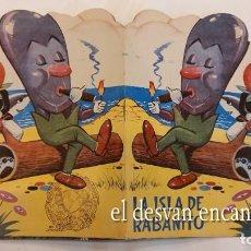 Tebeos: RABANITO Y CEBOLLITA. EDITORIAL MARCO. CUENTO TROQUELADO. Lote 277141268