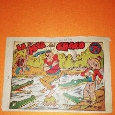 Tebeos: PINGO,TONGO Y PILONGO. LA ISLA DEL CHACO. EDITORIAL MARCO. 1949. Lote 277434303