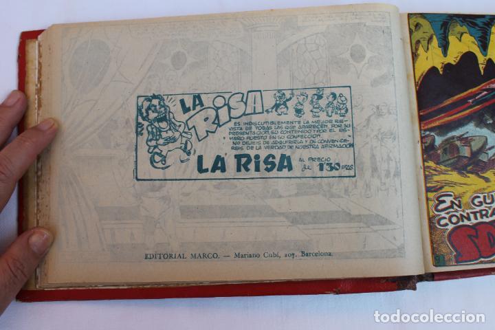 Tebeos: RED DIXON 1ª SERIE COMPLETA 70UNIDADES, ENCUADERNADOS 1954, EDITORIAL MARCO - Foto 12 - 277451483