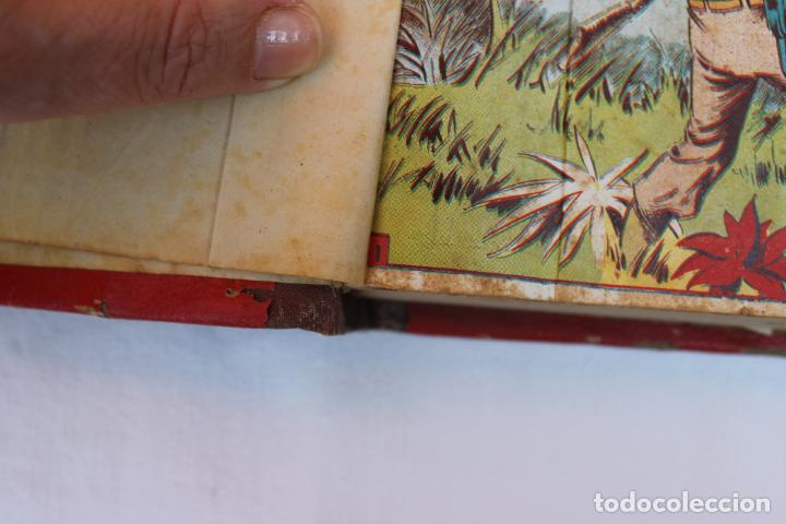 Tebeos: RED DIXON 1ª SERIE COMPLETA 70UNIDADES, ENCUADERNADOS 1954, EDITORIAL MARCO - Foto 13 - 277451483